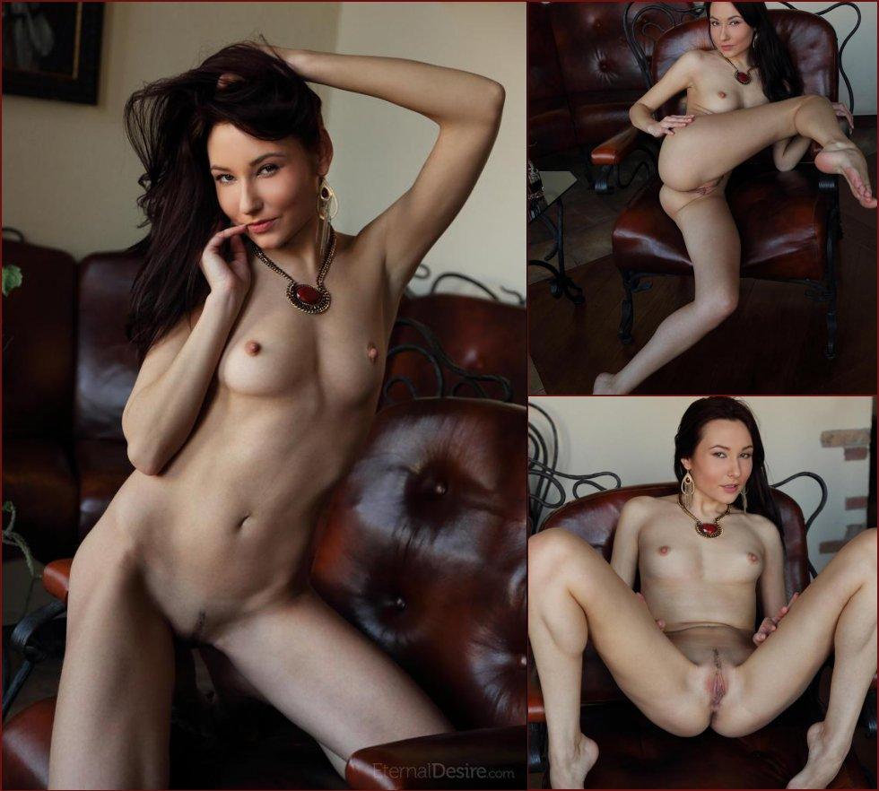 Sensual seductress shows meaty pussy - Bysya Part 2 - 2