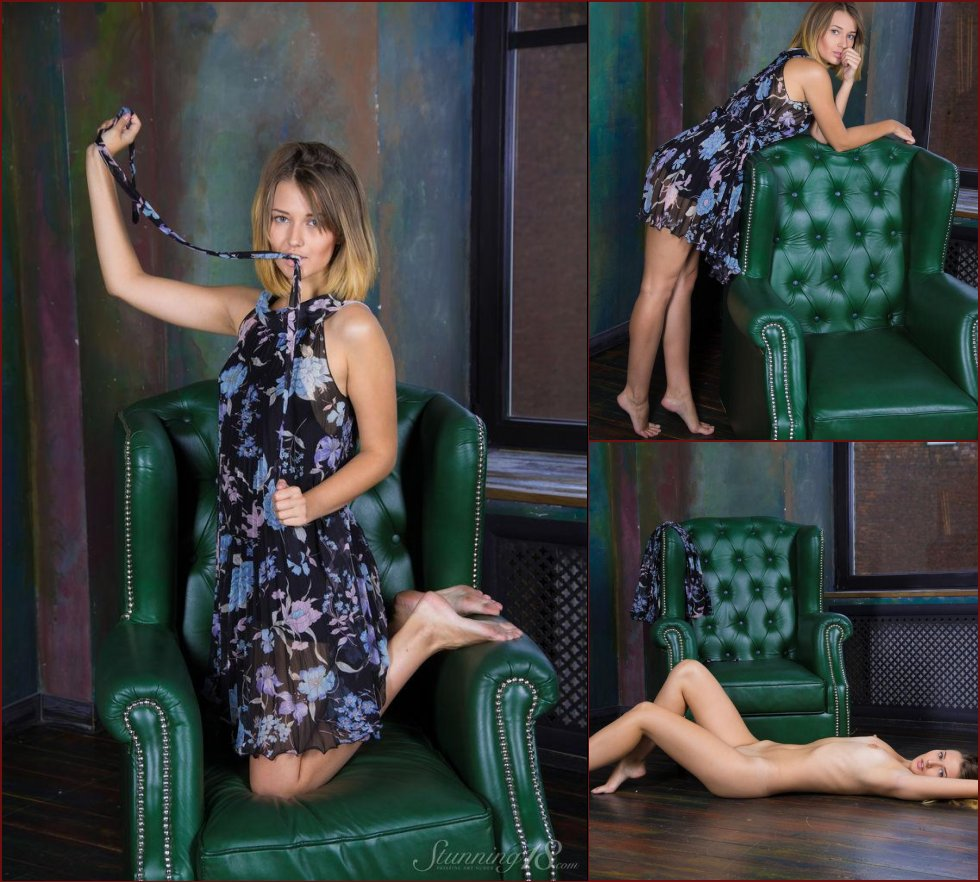 Sensual Veronica is tempting on the armchair - 18