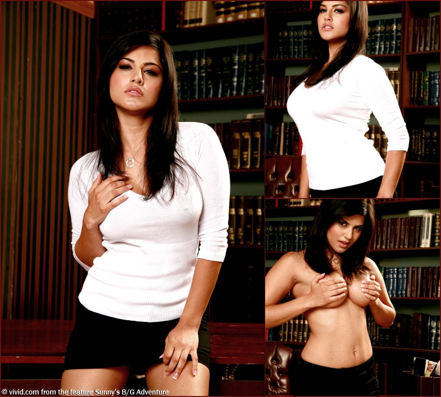 Amazing Sunny Leone is tempting in the library - 4
