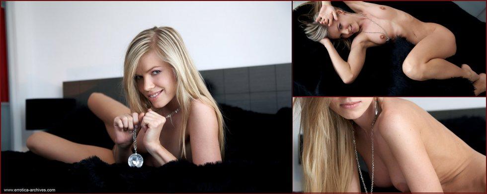 Charming blonde with beautiful smile - Marketa - 12