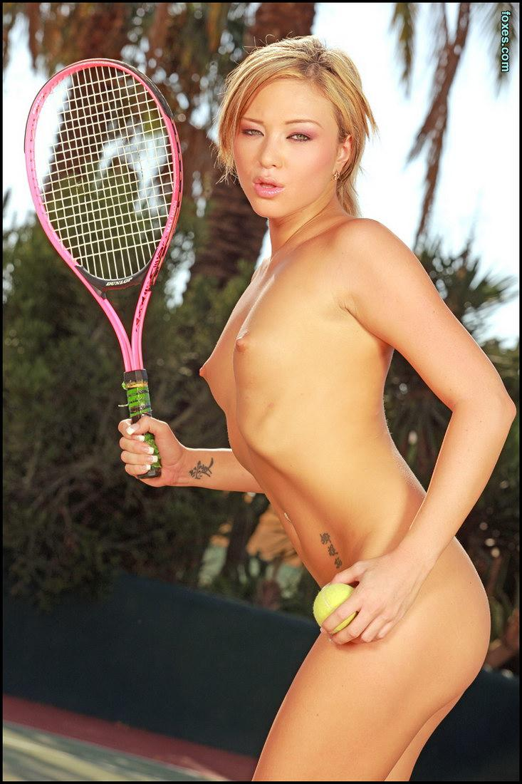Hot tennis with sexy Natalia Forest - 10