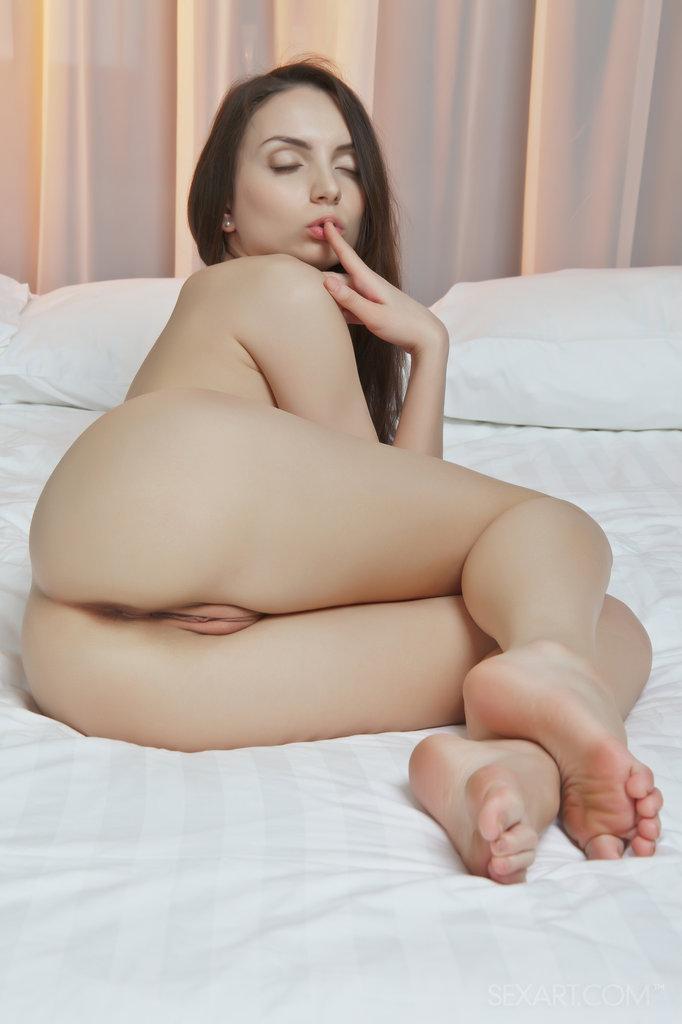 Naked Alana shows her sweet hole - 7