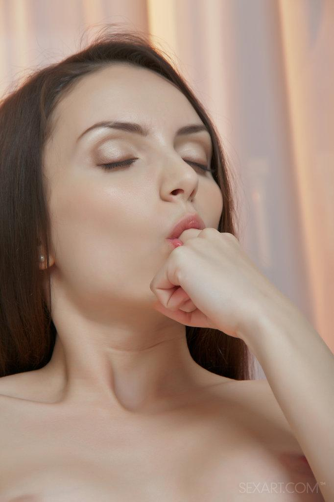 Naked Alana shows her sweet hole - 8