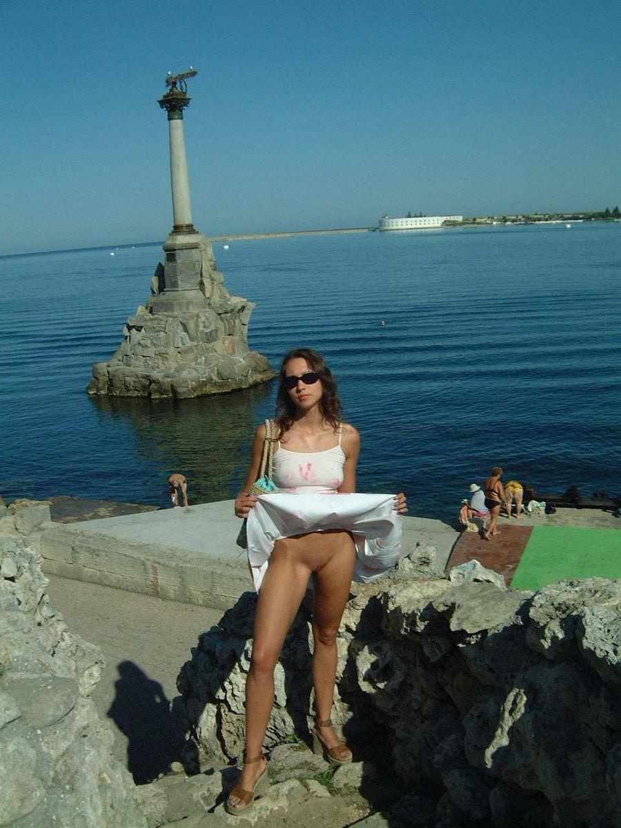 Beautiful Ulia on vacation. Part 1 - 1