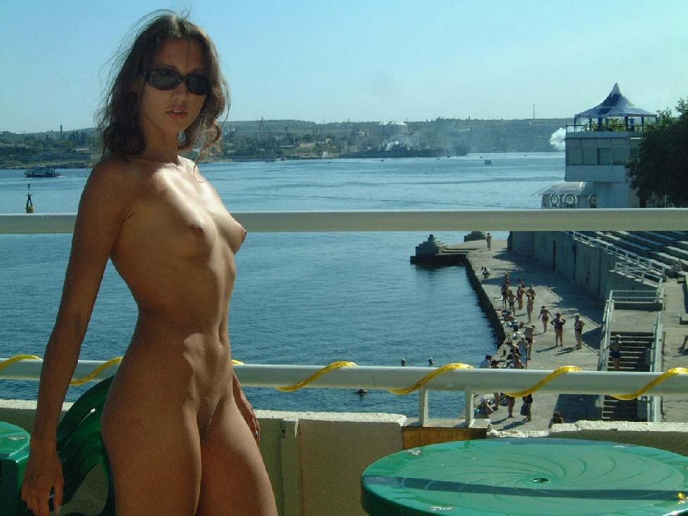 Beautiful Ulia on vacation. Part 1 - 11