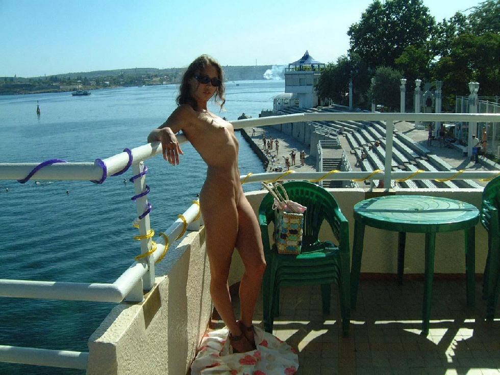 Beautiful Ulia on vacation. Part 1 - 9