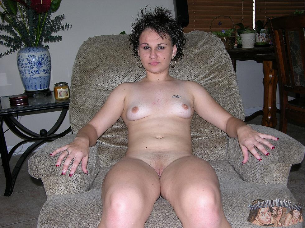 Brunette named Baby is showing shaved pussy. Part 1 - 6