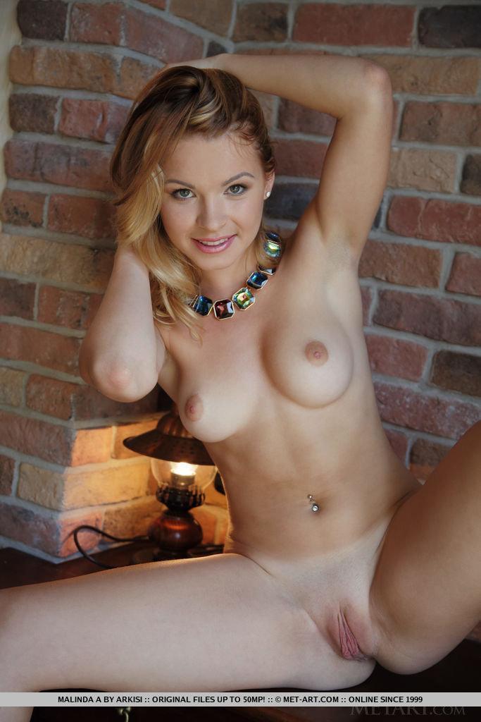 Charming Malinda shows naked body. Part 1 - 8