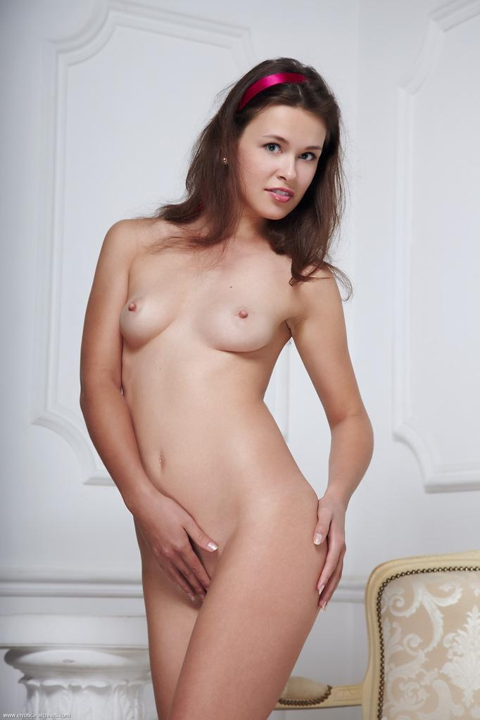 Fabulous Adria is showing her young body. Part 1 - 5