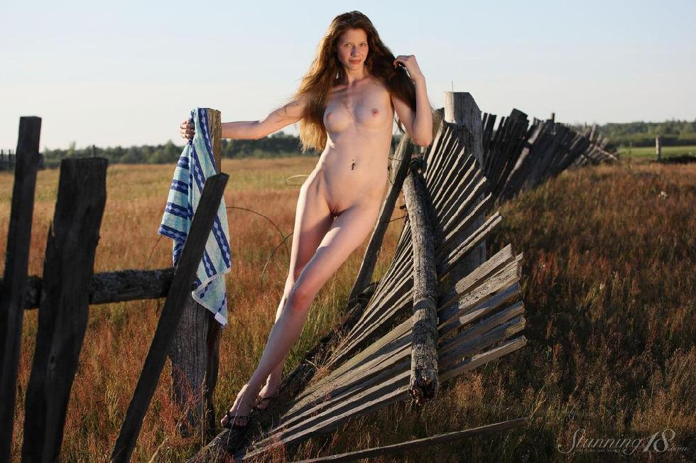 Young Nicole from countryside. Part 1 - 5