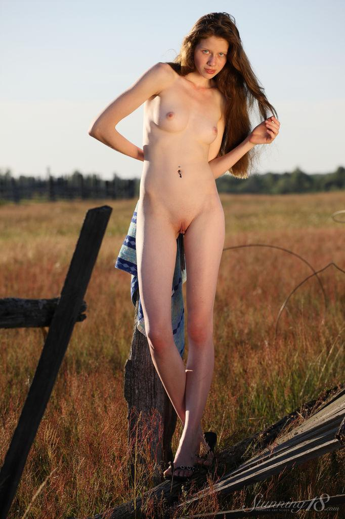Young Nicole from countryside. Part 1 - 8
