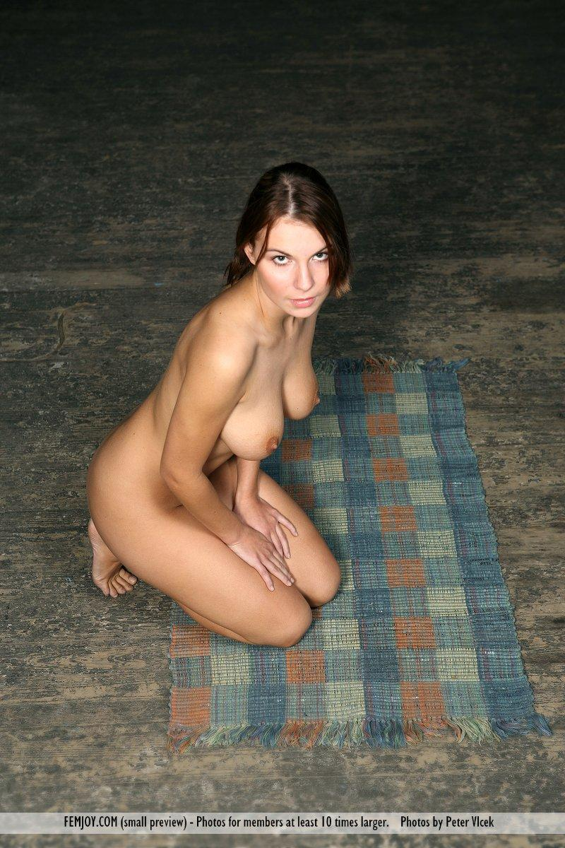 Wonderful naked girl on the red chair - Laura - 7