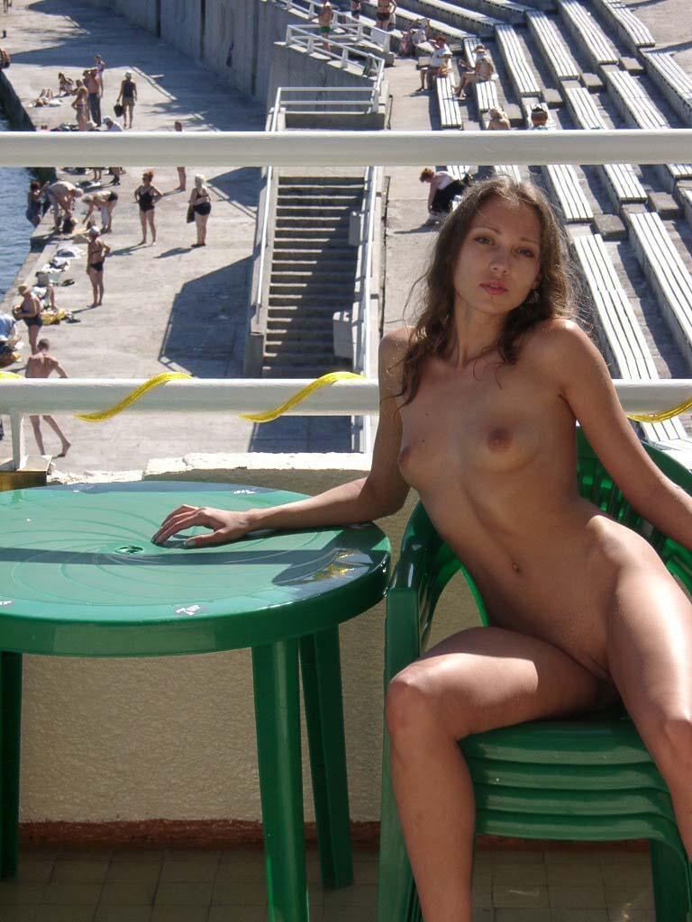 Beautiful Ulia on vacation. Part 2 - 12