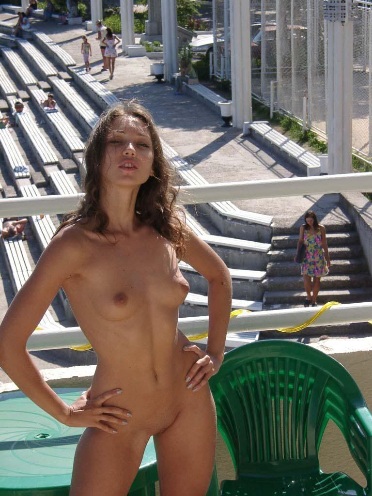 Beautiful Ulia on vacation. Part 2 - 7