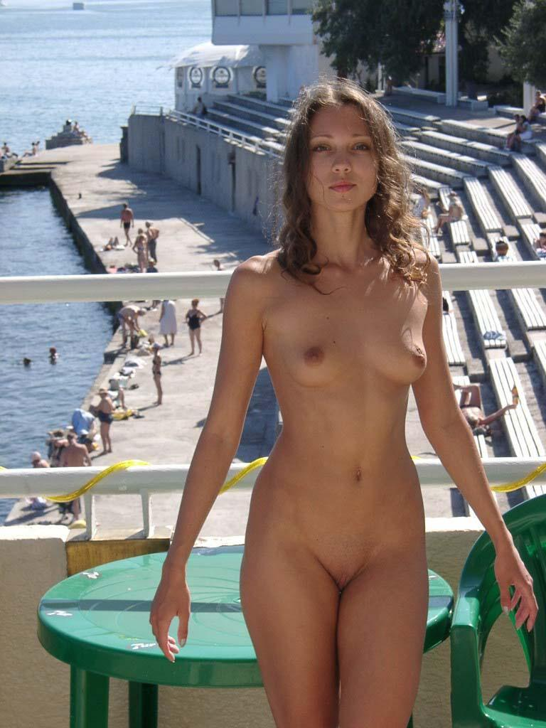 Beautiful Ulia on vacation. Part 2 - 8