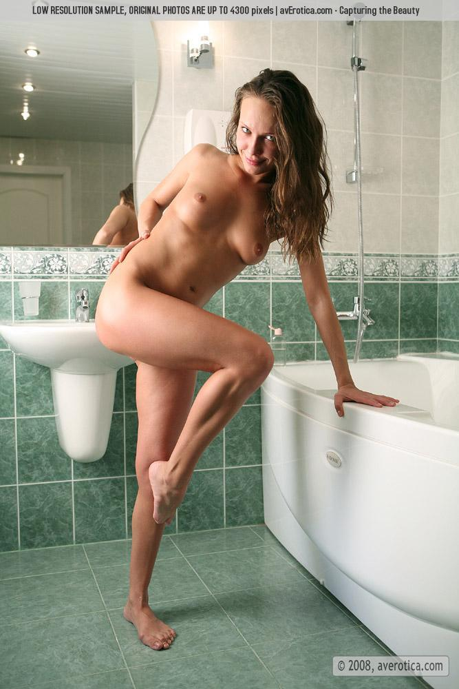 Naked session in the bathroom - Koty