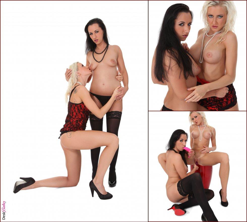 Vicktoria and Terra Sweet are horny chicks - 6