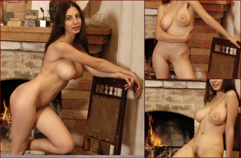 Naked girl with amazing breasts - Angela part 4 - 4
