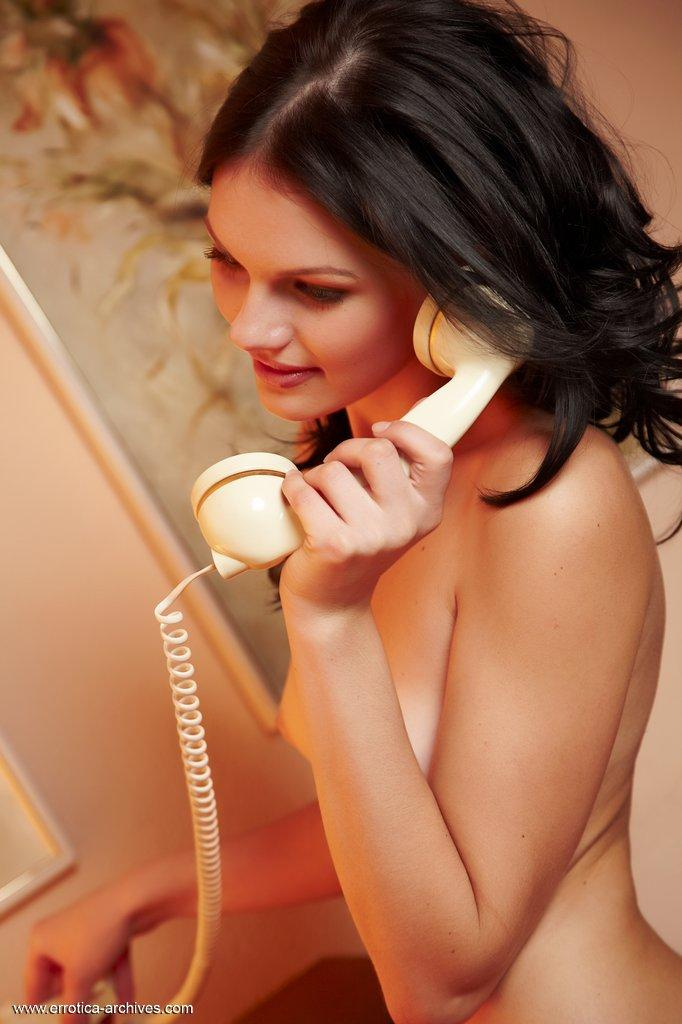 Very slim brunette is waiting for you to join her - Desiree part 2 - 1