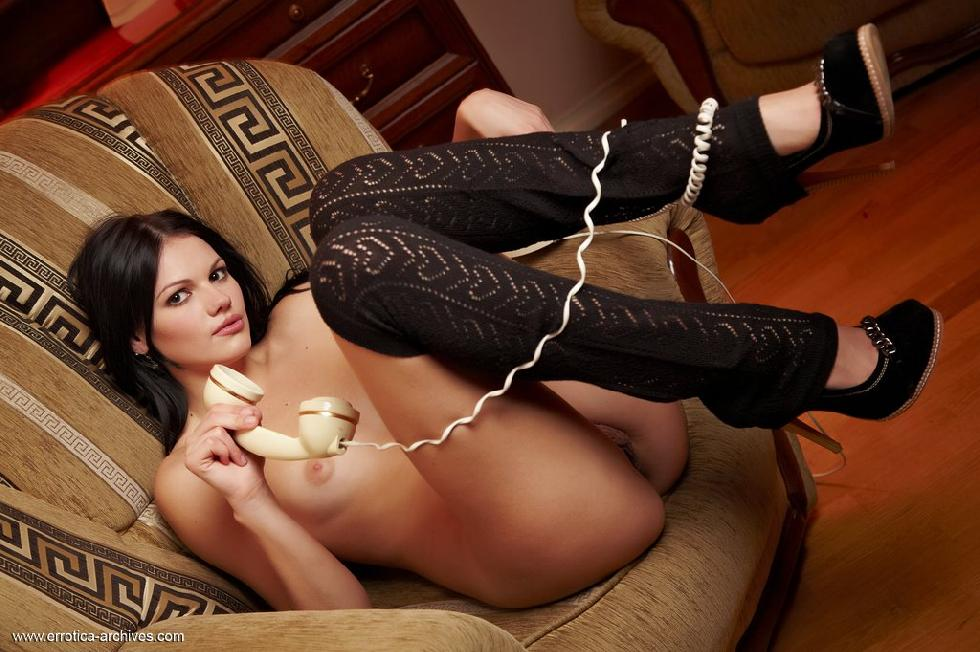Very slim brunette is waiting for you to join her - Desiree part 2 - 9