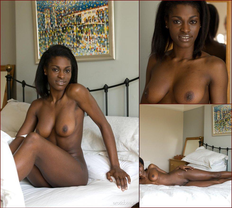 Sweet chocolate on the bed - Aubrey - 6