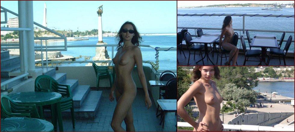 Beautiful Ulia on vacation. Part 3 - 3