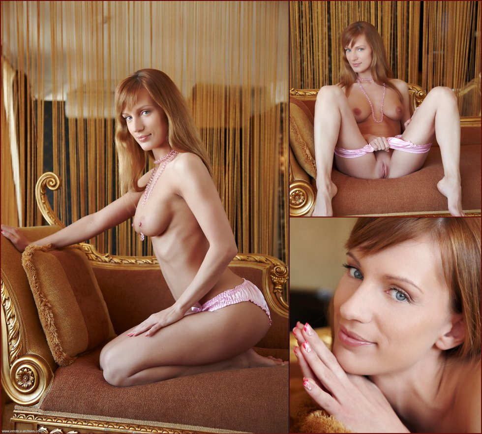 Red-haired Gisele is showing wonderful body. Part 1 - 1