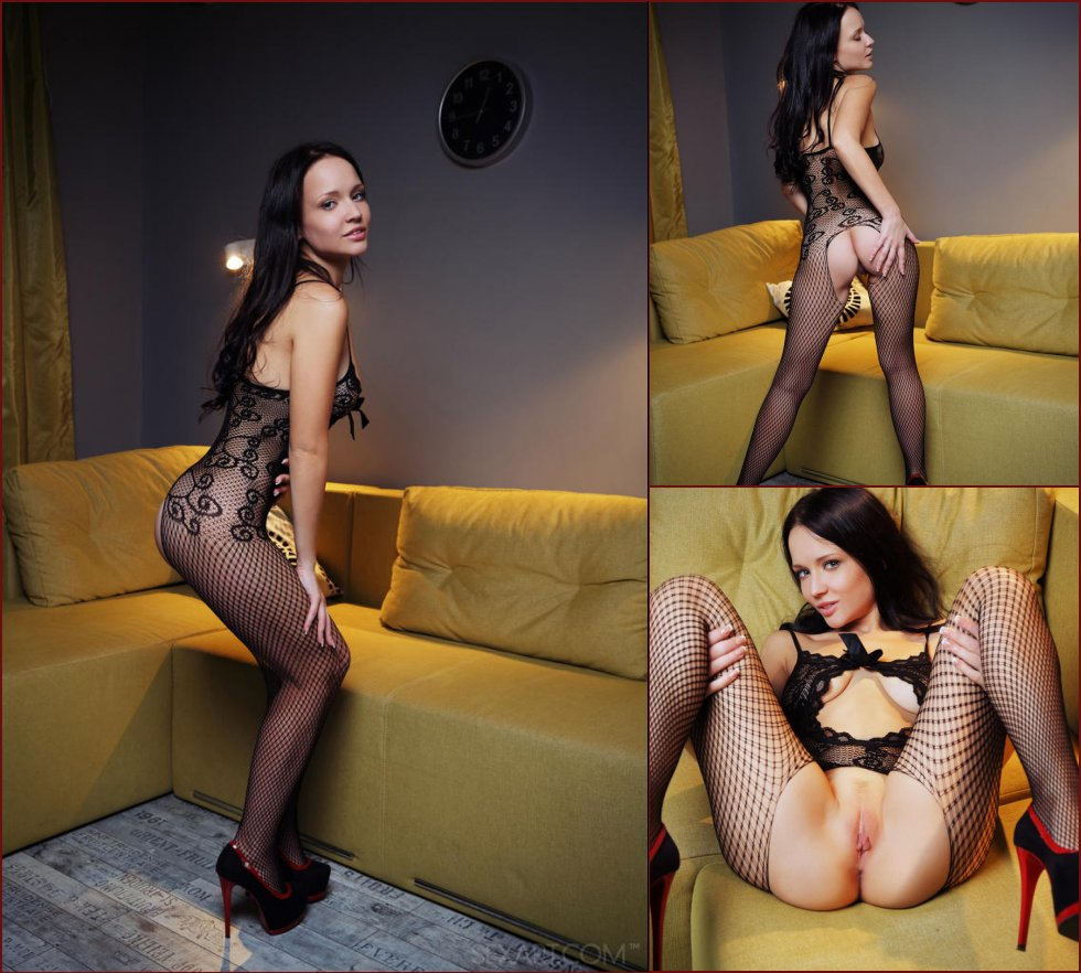 Marica is tempting in sexy bodystocking - 17
