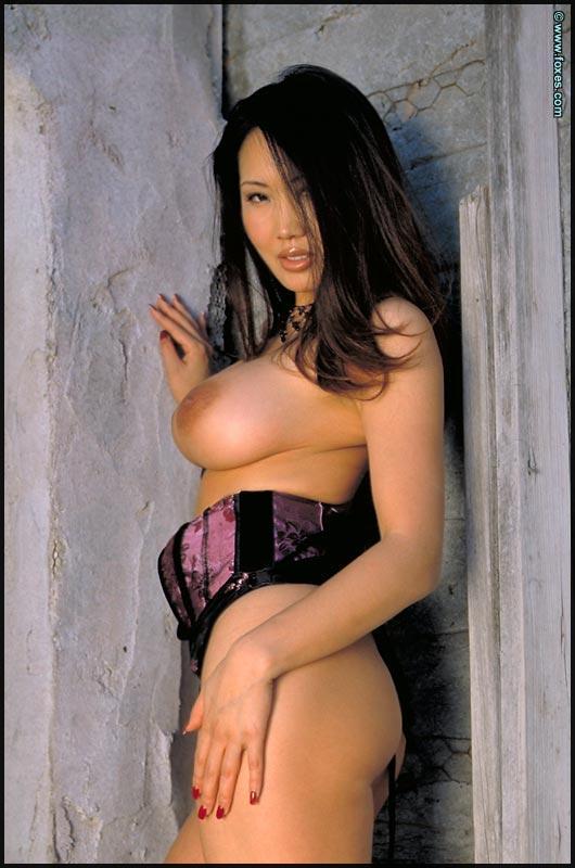 Busty Asian with very long legs - Kristen Muranaga - 12