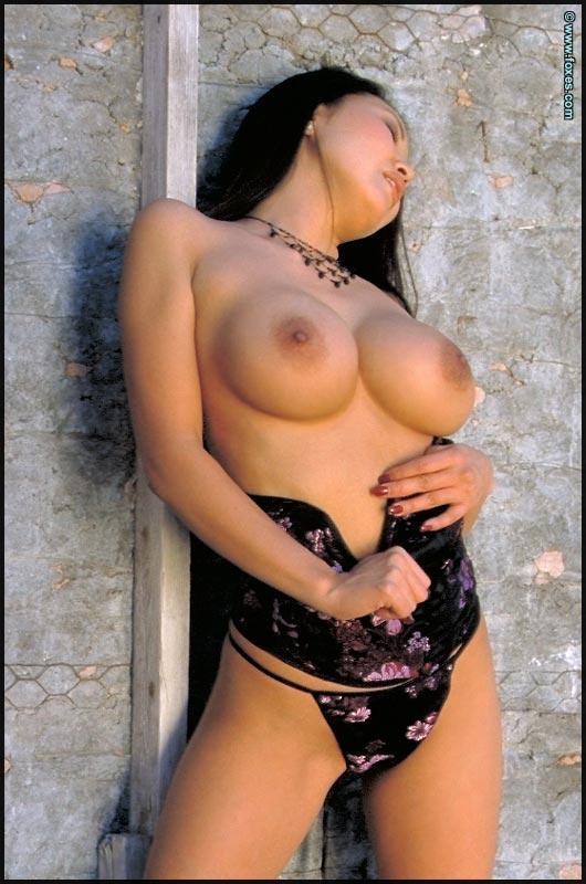 Busty Asian with very long legs - Kristen Muranaga - 13