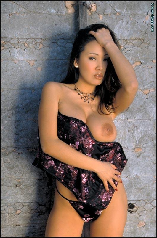 Busty Asian with very long legs - Kristen Muranaga - 14