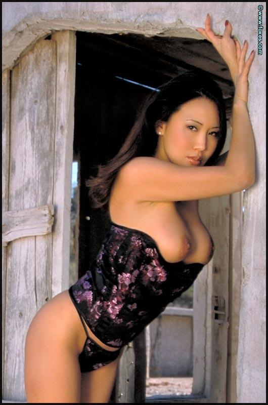 Busty Asian with very long legs - Kristen Muranaga - 9