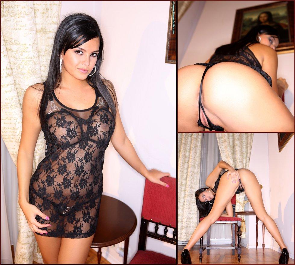 Amazing Latina in sexy underwear - Sasha Blaise - 49