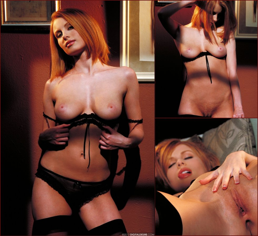 Very hot and sensual redhead named Anya - 54