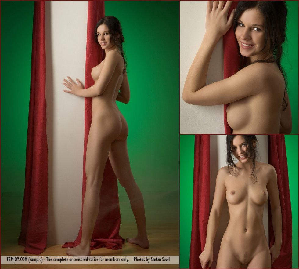 Charming young girl with beautiful body - Mona - 63