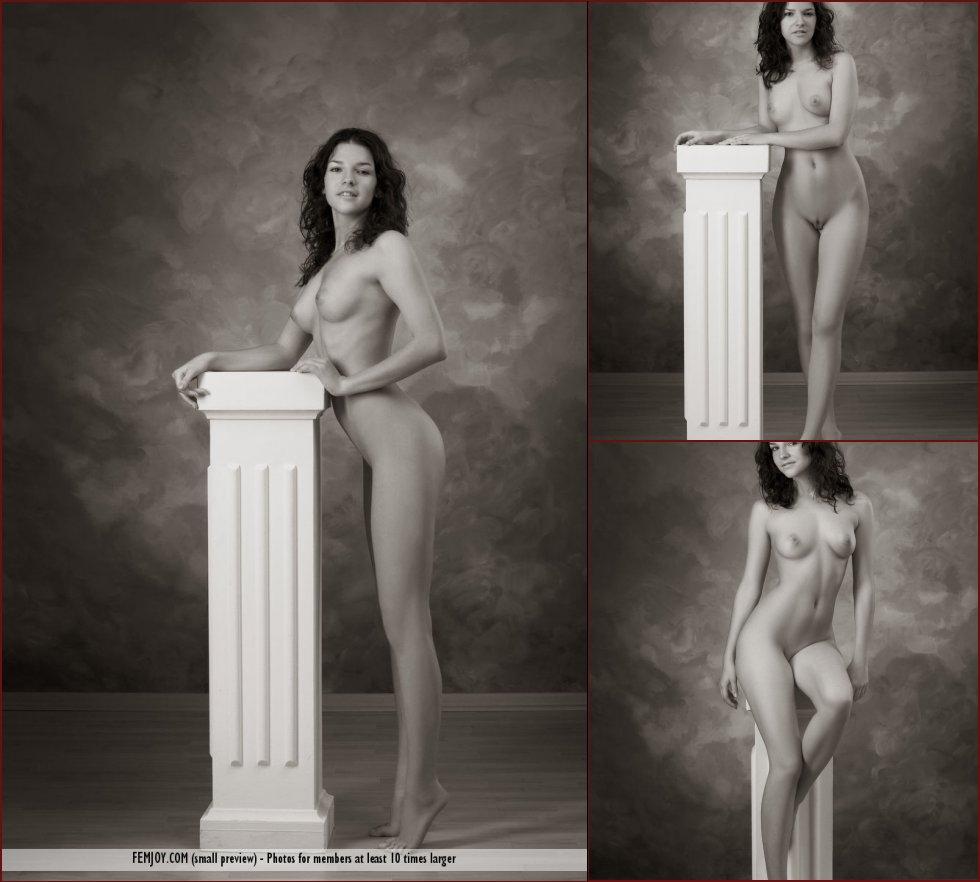 Erotic photoshoot with gorgeous Eva - 75