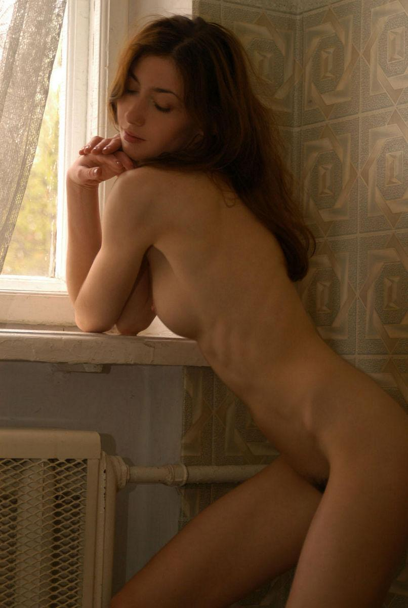 Young Katya is showing beautiful body. Part 3 - Bonjour Mesdames