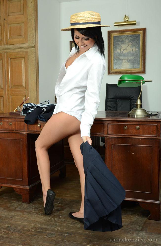 New schoolgirl at school - Micky - Bonjour Mesdames