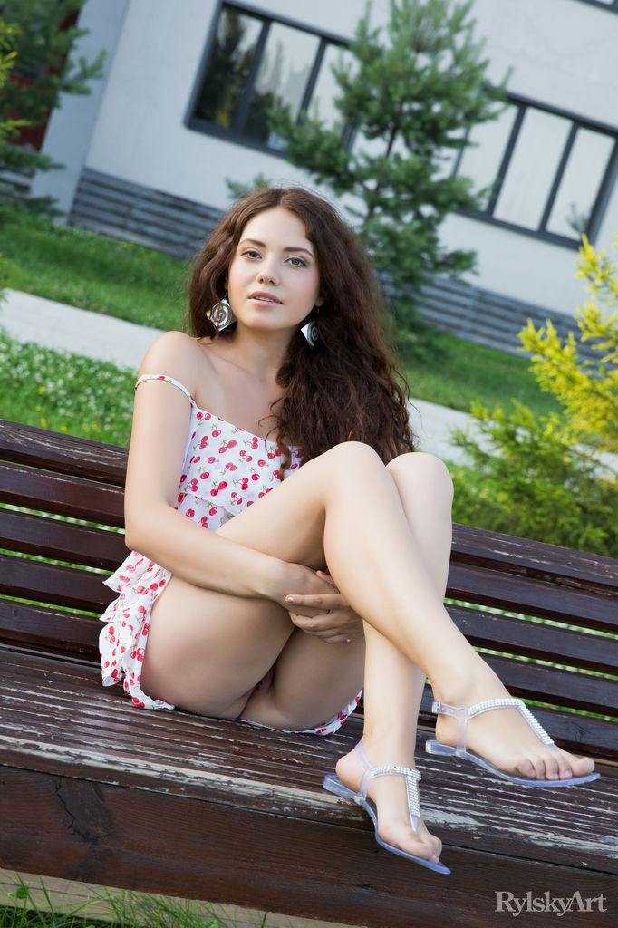 Magnificent girl is showing young body - Norma Joel